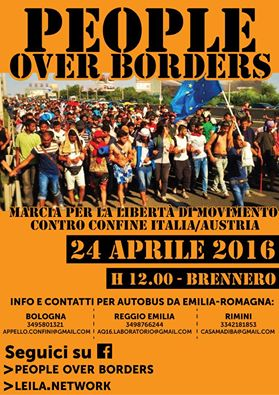 People over the borders